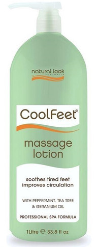 Natural Look Cool Feet Massage Lotion 1 Litre