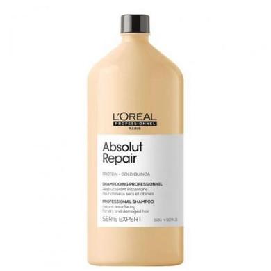 L'Oreal Professional Serie Expert Gold Quinoa Protein Absolut Repair Shampoo - 1.5L