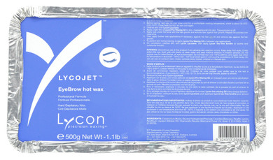 Lycon Lycojet Eyebrow Hot Wax - 500g