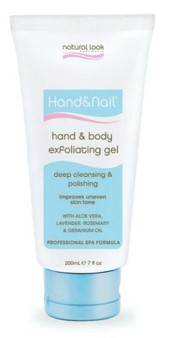 Natural Look Hand And Body Exfoliating Gel 200ml