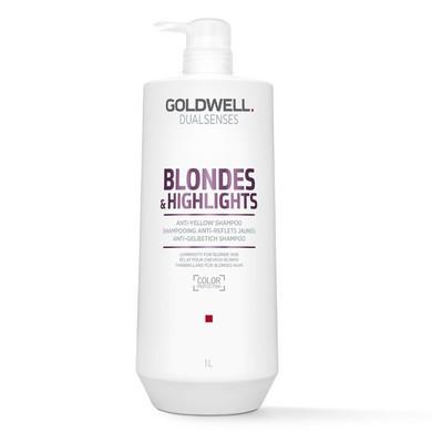 Goldwell Blondes & Highlights Anti-Yellow Shampoo -1L