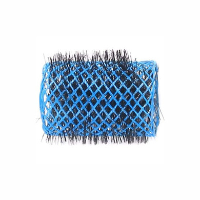 Swiss Brush Rollers Blue 42mm - 4pk