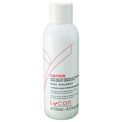 NEW Lycon Wax Solvent For Equipment Textiles And Furniture - 125ml