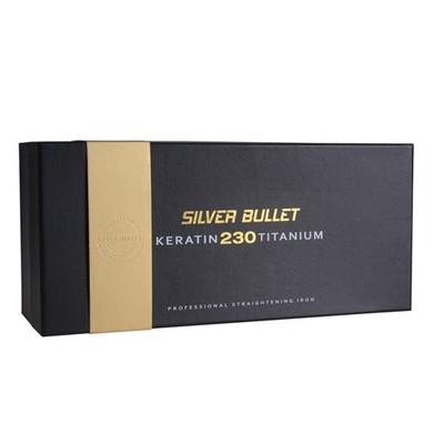 Silver Bullet Keratin 230 Gold Titanium Hair Straightener