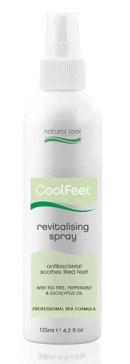 Natural Look Cool Feet Revitalizing Spray 125ml