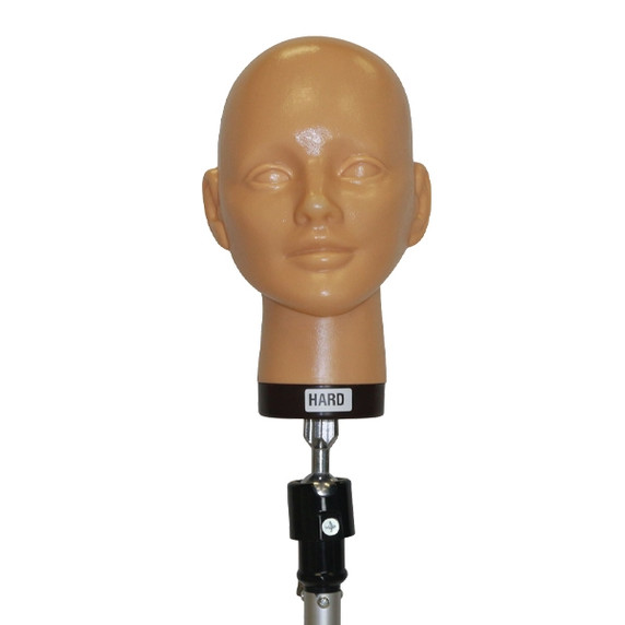 Bald Hard Mannequin Head