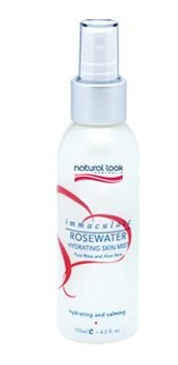 Natural Look Immaculate Rosewater Hydrating Skin Mist 125ml