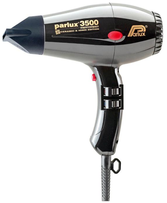 Parlux 3500 Super Compact Ceramic & Ionic Edition - Black