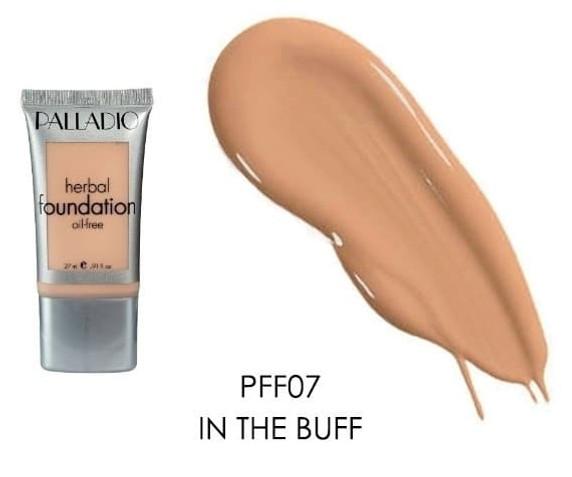Palladio Herbal Liquid Oil Free Foundation - In the buff 27ml