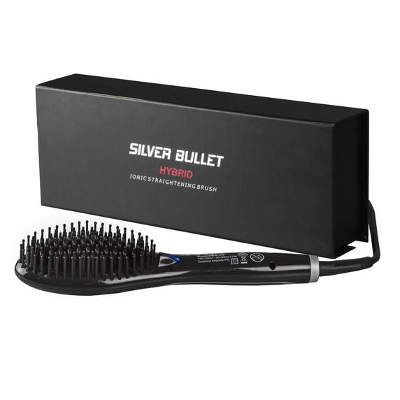 Silver Bullet Hybrid Ceramic & Ionic Straightening Brush