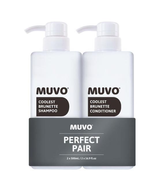 Muvo Professional Coolest Brunette Duo 500ml