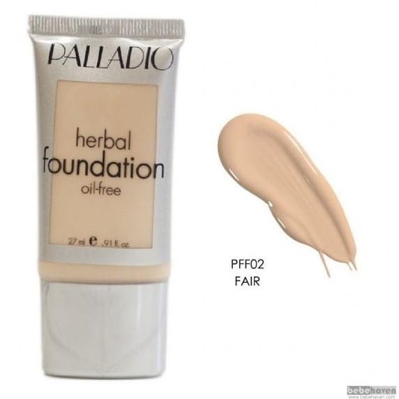 Palladio Herbal Liquid Oil Free Foundation - Fair 27ml