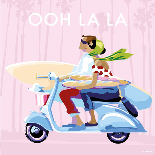 BB78667 - Ooh La La (1 blank card)~