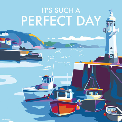 BB78778 - It's Such a Perfect Day (1 blank card)