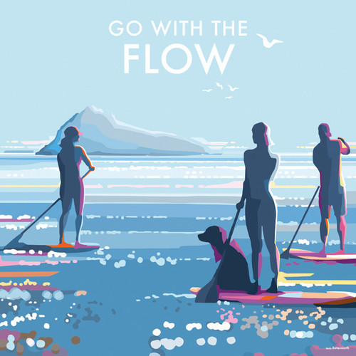 BB78779 - Go with the Flow (1 blank card)