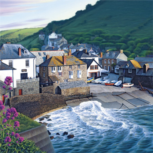 BH80494 - Late Sun at Port Isaac (1 blank card)
