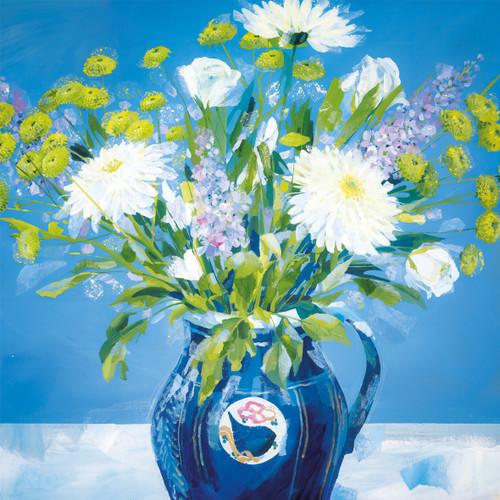 CH33824 - Blue Vase (1 blank card)