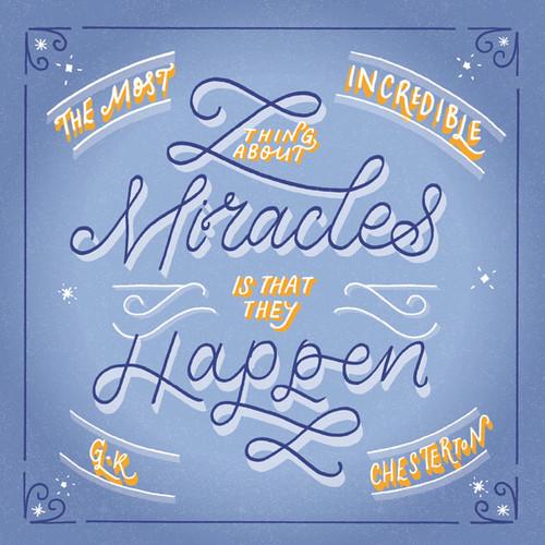 ES83682 - Miracles... (1 blank card)-