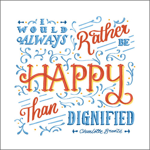 ES83685 - Happy than dignified... (1 blank card)