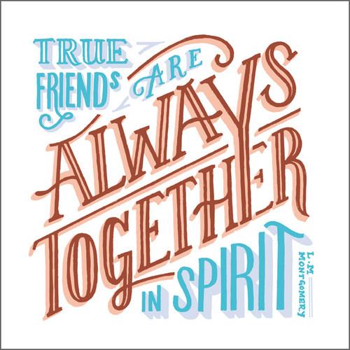 ES83686 - True friends... (1 blank card)-