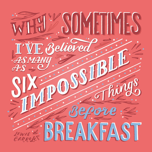 ES83692 - Impossible things... (1 blank card)
