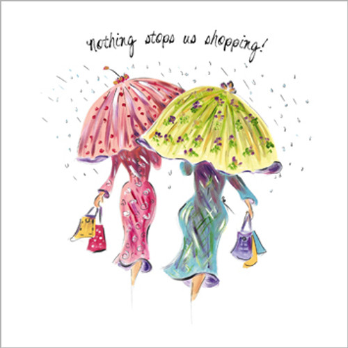 TG39089 - Nothing stops us shopping (1 blank card)