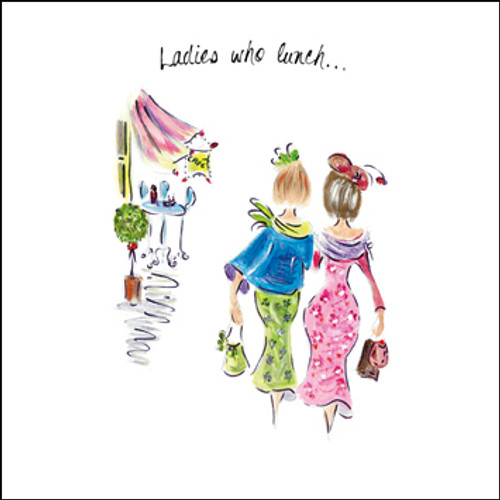 TG39091 - Ladies who lunch... (1 blank card)-