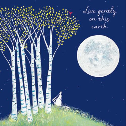 KA82525 - Live gently on this earth (1 blank card)~
