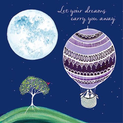 KA82526 - Let your dreams carry you away (1 blank card)~