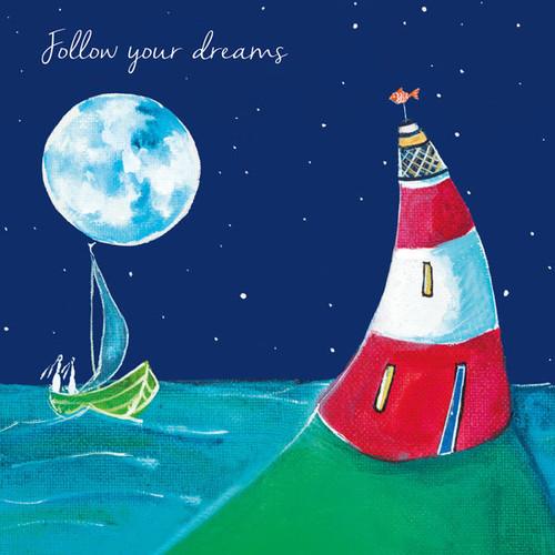 KA82729 - Follow your dreams (1 blank card)~