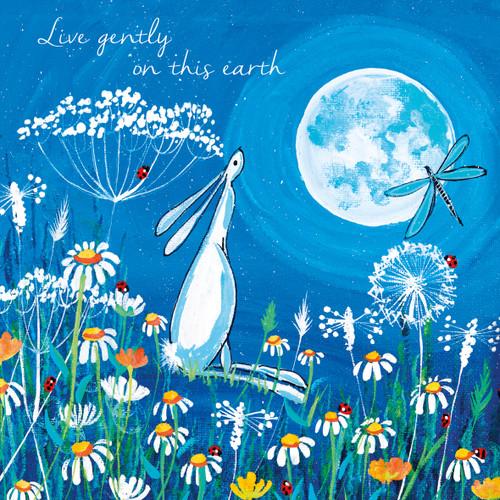 KA82787 - Live gently on this earth (1 blank card)~