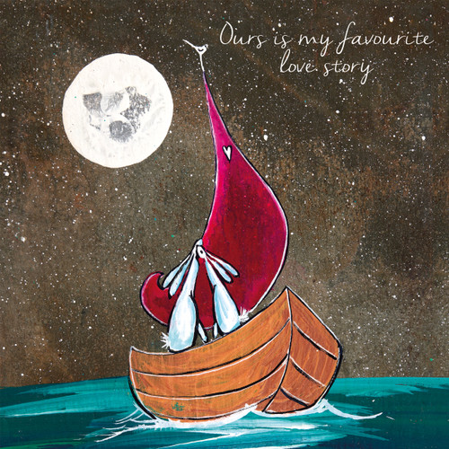 KA82790 - Ours is my favourite love story (1 blank card)