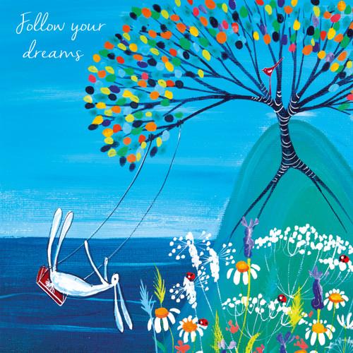 KA82792 - Follow your dreams (1 blank card)~