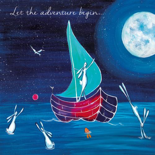 KA82794 - Let the adventure begin... (1 blank card)-