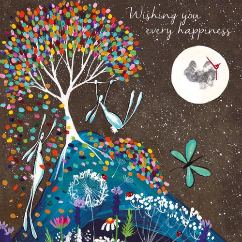 KA82798 - Wishing you every happiness (1 blank card)~