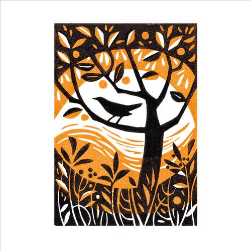 MA86834 - Blackbird in the Garden (1 blank card)