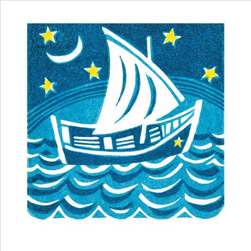 MA86836 - The Smuggler's Boat (1 blank card)