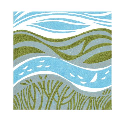 MA86837 - River View II (1 blank card)