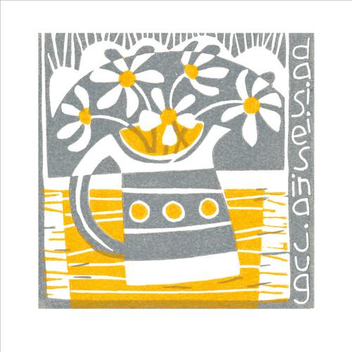 MA86839 - Daisies in a Jug (1 blank card)~