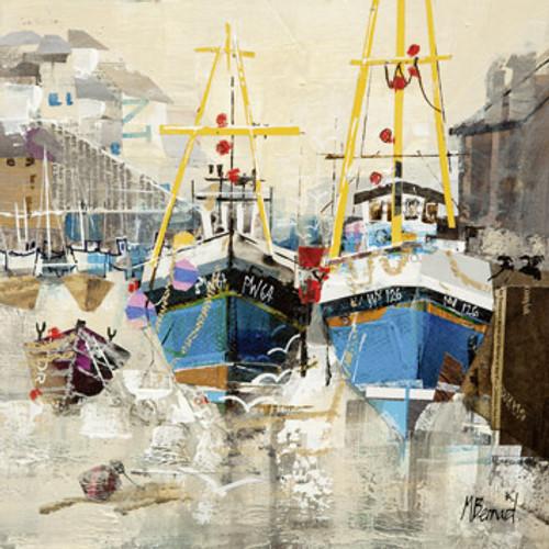 MB79434 - Fishing Boats, Mevagissey (1 blank card)~