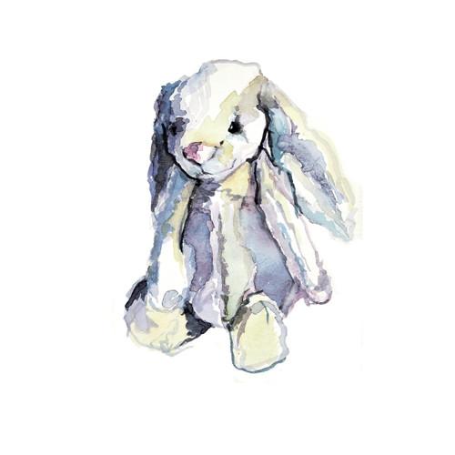 PF87864 - Floppy Bunny (1 blank card)~
