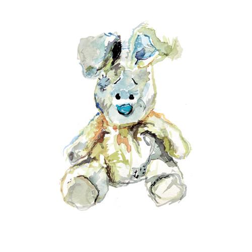 PF87868 - Rabbit (1 blank card)~
