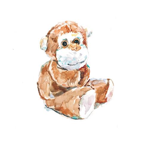 PF87870 - Monkey (1 blank card)~