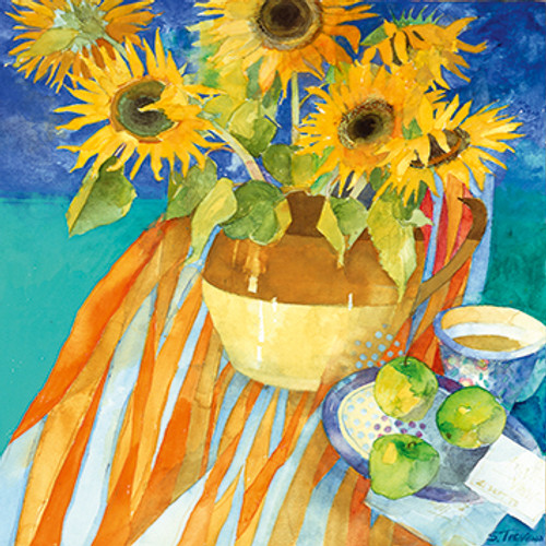 ST68207 - Sunflowers and Apples (1 blank card)