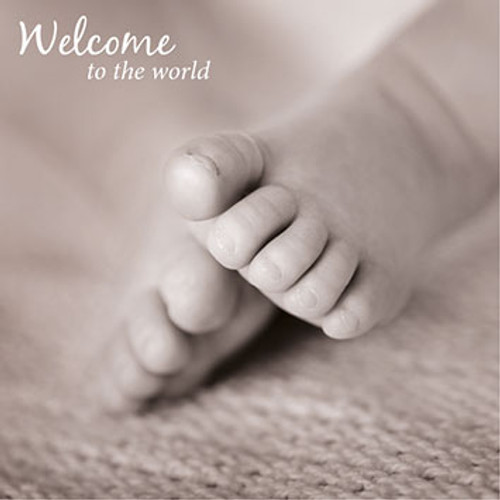 SM14634B - Tiny Toes (1 new baby card)~