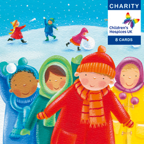 CC90009CH - Snowballing (1 pack of 8 charity Christmas cards)