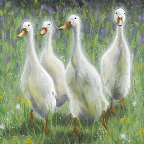 BM76433 - Runner Ducks (1 blank card)~