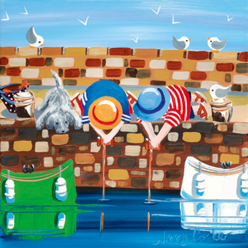 NK65355 - Crabbing in the Harbour (1 blank card)~