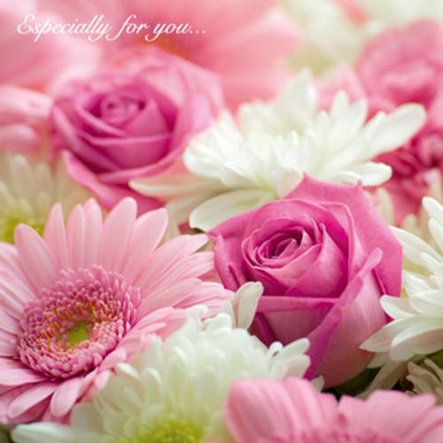 SM10054HB - Pretty in Pink (1 birthday card)~