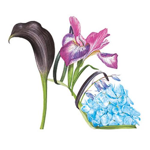 BS77505 - Hydrangea slipper (1 blank card)~